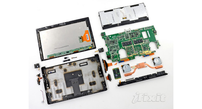 iFixit desmonta Surface Pro