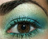 Sombras en tonos verdes