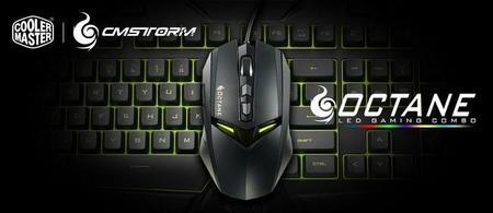 CM Storm Octane, la iluminación LED llega a los combos de teclado y mouse