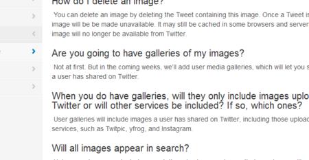 Twitter tendrá galerías de imágenes para cada usuario