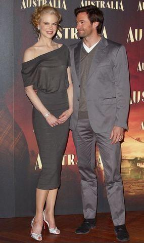 Nicole Kidman en la presentación de Australia en Madrid
