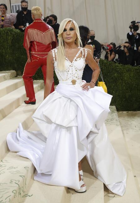 Donatella Versace Met