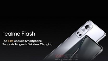 """realme prepara su propio magSafe: realme Flash será """"el primer smartphone Android con carga inalámbrica magnética"""", según filtración"""