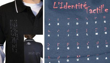 Camisetas Braille