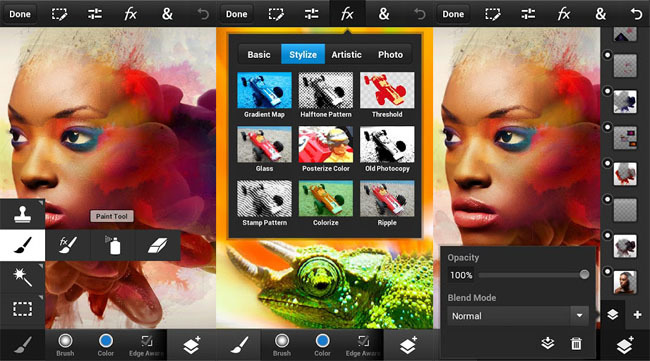 Adobe Photoshop para móviles Android