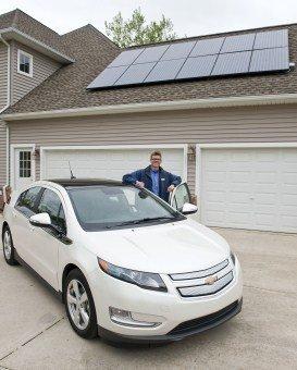 Chevrolet Volt Solar Mark Hildebrandt