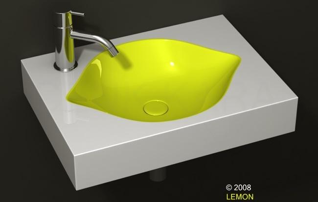 Foto de Lavabo con forma de limon (1/5)