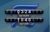 piClock: Reloj que muestra las horas utilizando conocidas constantes matemáticas
