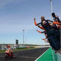 Felicidad en Honda: Marc Márquez ganó de derechas, Pol Espargaró se estrena en el podio y primer doblete en MotoGP desde 2017