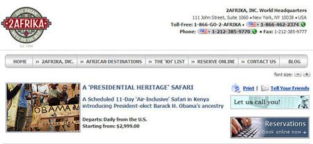 Safari a la tierra del Presidente