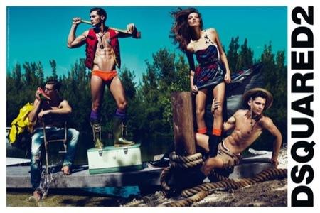 Dsquared2 campaña Primavera-Verano 2010: más músculos para la colección I