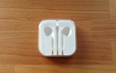 Las cajas de los Earpods, otro ejemplo de los minuciosos detalles de Apple