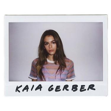 Kaia Gerber logra su primer hit: ¡la campaña de Alexander Wang Primavera-Verano 2016!