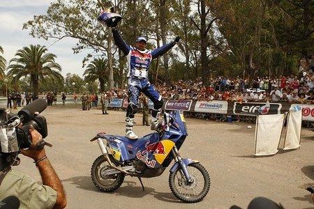 Cyril Despres ganador del Dakar 2010