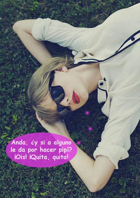 Taylor Swift, demasiado cuqui para bañarse con el común de los mortales