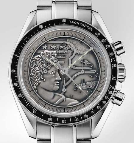 """Reloj Omega Speedmaster Moonwatch """"APOLLO XVII"""" conmemora la última misión a la luna"""