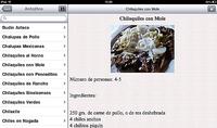 Cocina Mexicana HD, recetas de cocina mexicana en el iPad