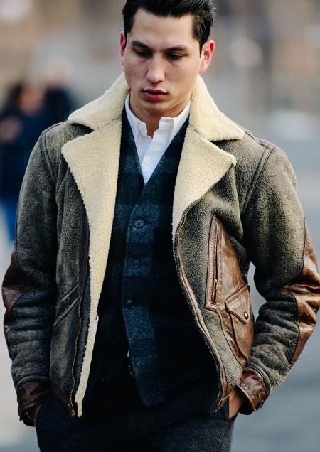 El Mejor Street Style De La Semana Chaqueta Abrigo Borreguillo Shearling Jacket 10