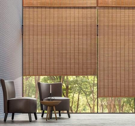 Persiana bambú