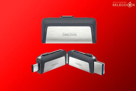 Vuelve el chollo de la memoria flash USB SanDisk Ultra Dual DriveType-C de 256 GB por 33,99 euros en Amazon para iPad, Mac y más
