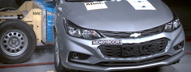 Chevrolet Cruze y Fiat 500X dejan buena impresión en la prueba de seguridad de Latin NCAP
