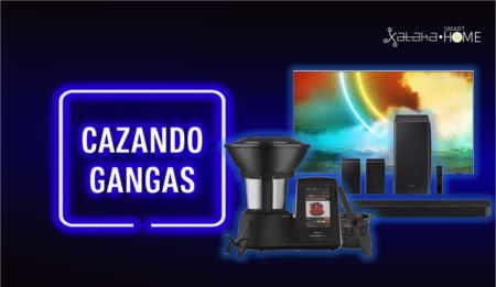 Robots de cocina y electrodomésticos con grandes descuentos, teles enormes para el salón, barras de sonido y más: Cazando Gangas