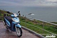 Honda Scoopy SH300i, prueba (conducción en autopista y pasajero)