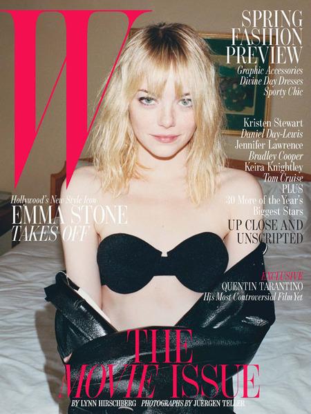 Consigue el look tan a la última de Emma Stone en W Magazine