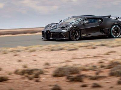 Bugatti Divo, los modelos previos a la producción se dejan ver en la pista