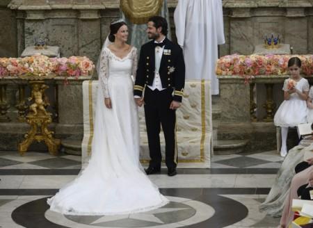 Boda Real Carlos Felipe de Suecia y Sofia Hellqvist