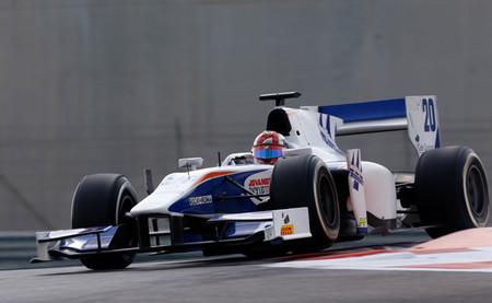 Raffaele Marciello lidera el primer día de pruebas de la GP2 en Abu Dabi con Carlos Sainz Jr tercero