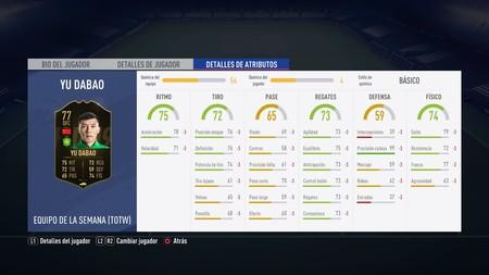 Fifa 19 Desafio Totw De Fut En Los Menus 89