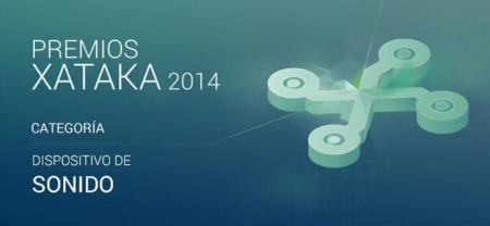 Vota por el mejor dispositivo de sonido en los Premios Xataka 2014