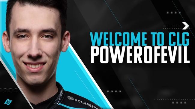Counter Logic Gaming (CLG) confirma el fichaje de PowerOfEvil y G2 Esports firmaría a Mikyx
