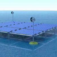 Esta plataforma híbrida promete generar electricidad a partir de la energía solar, eólica y undimotriz