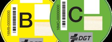 Todo sobre las etiquetas medioambientales para los coches de la DGT