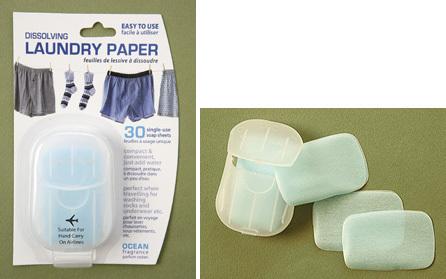 Laundry Paper: hojas de jabón
