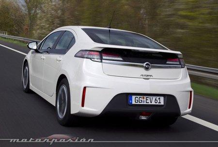 El Opel Ampera se podrá alquilar en Europcar