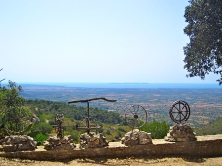 Mallorca a tus pies desde el Puig de Randa y el Santuario de Cura