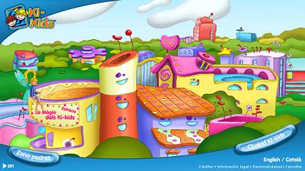 Ki-Kids, una ciudad divertida y educativa online