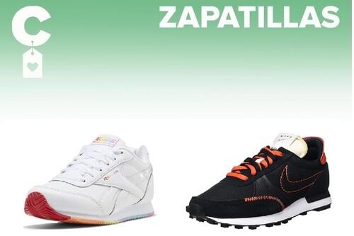Chollos en tallas sueltas de  zapatillas Reebok, Adidas, Puma o Nike en Amazon