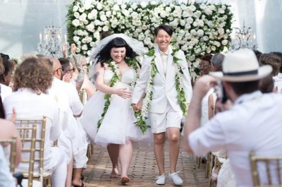 Beth Ditto es la novia alternativa con su vestido de boda de Jean Paul Gaultier