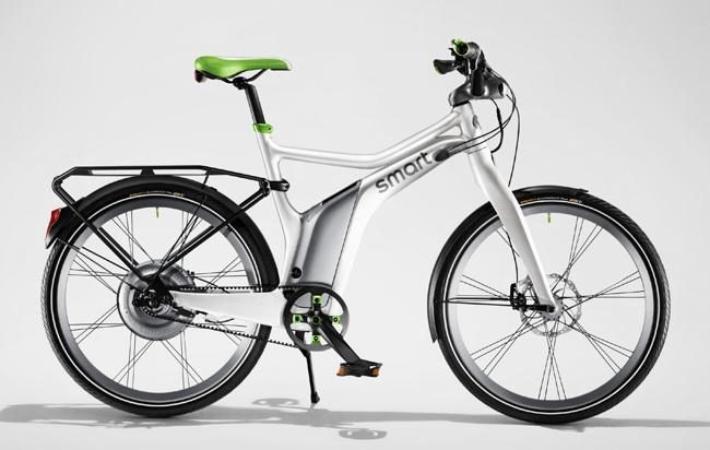 Smart ebike con accesorios