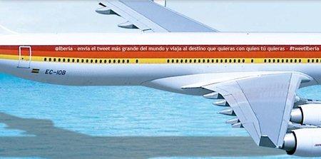 Consiga dos billetes i/v con Iberia por enviar el tweet más largo del mundo