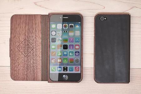 Estuche de madera para iPhone 6, para que no se te doble