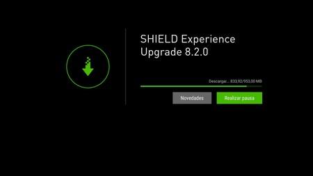 Actualización Nvidia Shield Tv