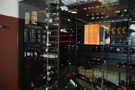 La botella de vino. Curvas y formas