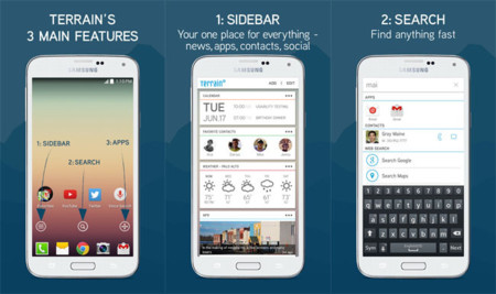 Terrain Home, ya disponible el lanzador de aplicaciones inteligente financiado por Samsung