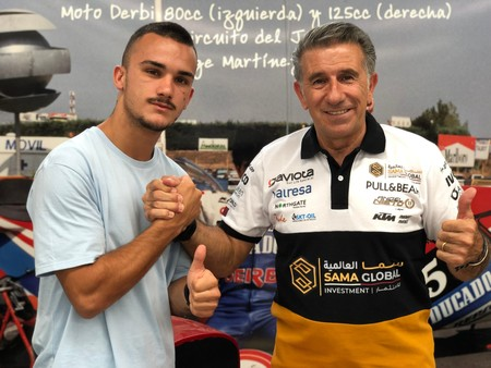 Arón Canet dará el salto a Moto2 de la mano de Jorge Martínez Aspar en el Ángel Nieto Team