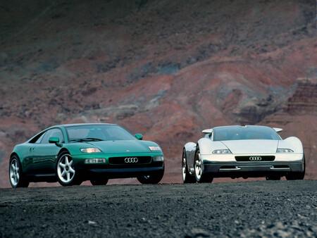 Audi Quattro Spyder y Audi Avus